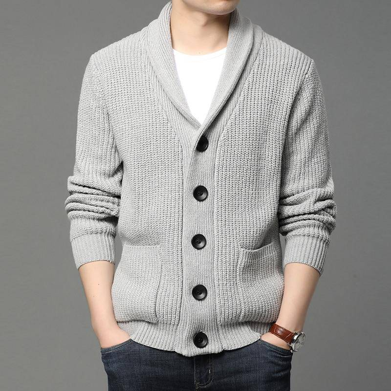 Button Me Up Knit Sweater - moderncaveman