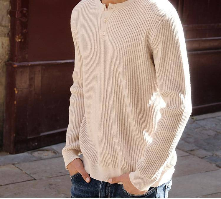 Wind Whistle Casual Sweater - moderncaveman