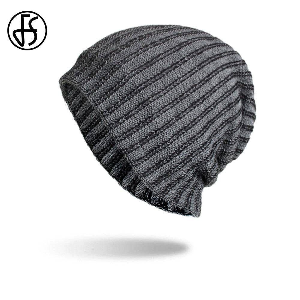 Snuggle Up Striped Beanie - moderncaveman
