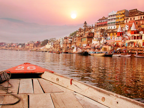 The River Ganges and its helpful bacteria