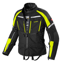 Spidi IT H2OUT Armakore Jacket Black Fluo Yellow CE