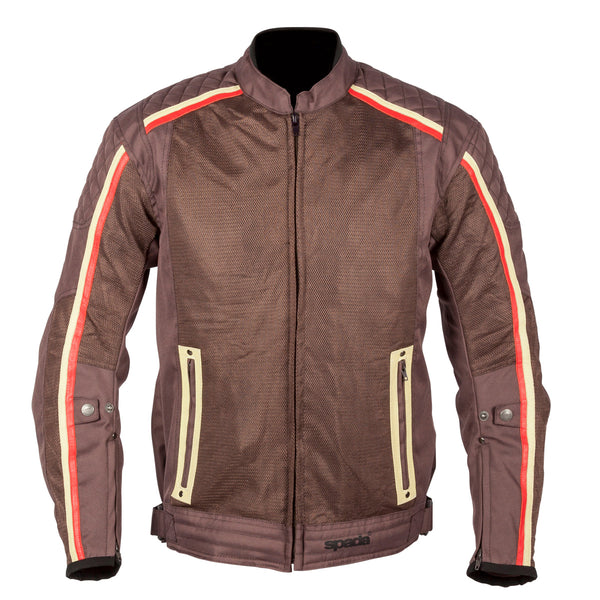 Spada Textile Jacket Utah Winds Brown