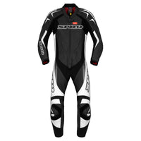 Spidi IT Super Sport Wind CE Suit Blk Wht