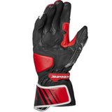 Spidi GB Carbo 7 CE Gloves Red Blk