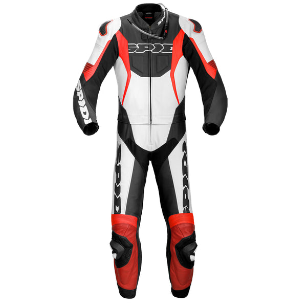 Spidi IT Sport Warrior Touring CE Suit Blk Fluo Red