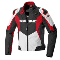 Spidi IT Sport Warrior CE Tex Jkt Blk Red