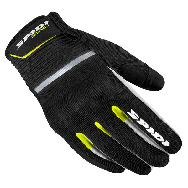 Spidi IT Flash CE Gloves Blk Fluo Yell