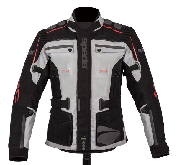 Spada Textile Jacket Ascent CE Black/Grey