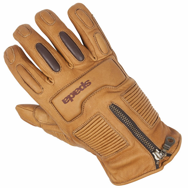Spada Leather Gloves Rigger CE WP Sand