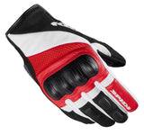 Spidi IT  Rage CE Gloves  Black Red