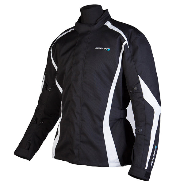 Spada Textile Jacket Planet Black/White