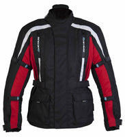 Spada Textile Jacket Core Black/Red