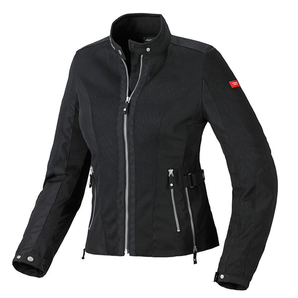 Spidi GB Tex Tech Summernet Lady Jacket-Black