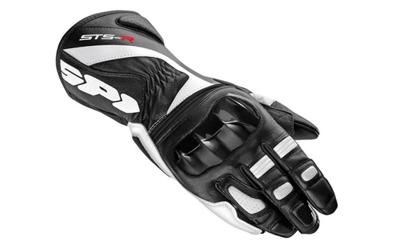 Spidi STS-R Lady Leather Gloves-Black/White