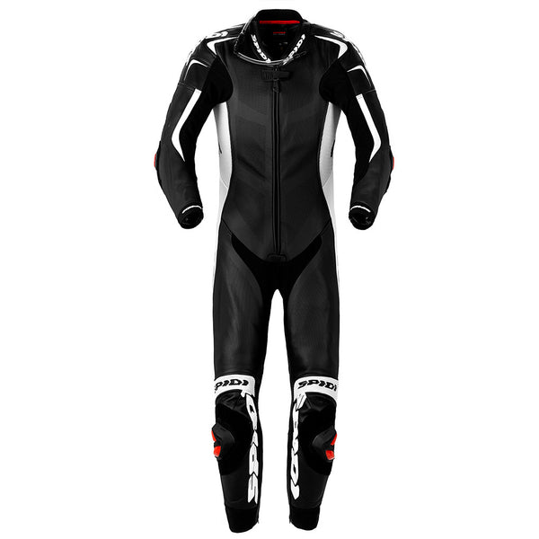 Spidi GB Wind Pro Piloti Leather Suit-Black/White