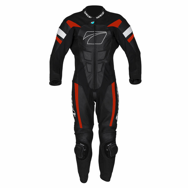 Spada Leather Suit 1 piece Curve Evo Black/Red
