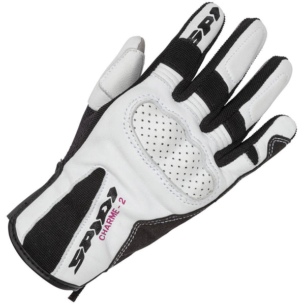 Spidi GB Charme 2 CE Lady Glove White