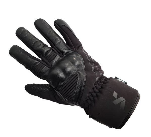 Spada Leather Gloves Oslo Ladies WP CE Black