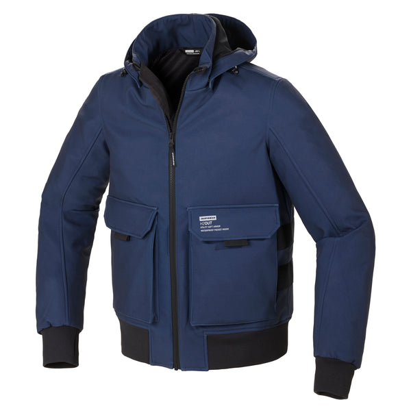Spidi GB Metromover CE Jacket Blk/Blue