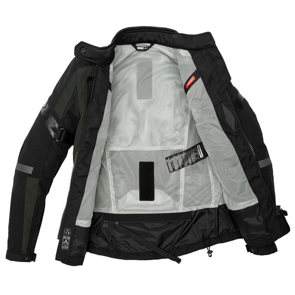 Spidi GB 4Season Evo Lady CE Jacket Blk/Dark Green