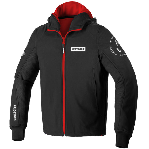 Spidi IT Hoodie Armor Evo CE Jacket Blk/Red