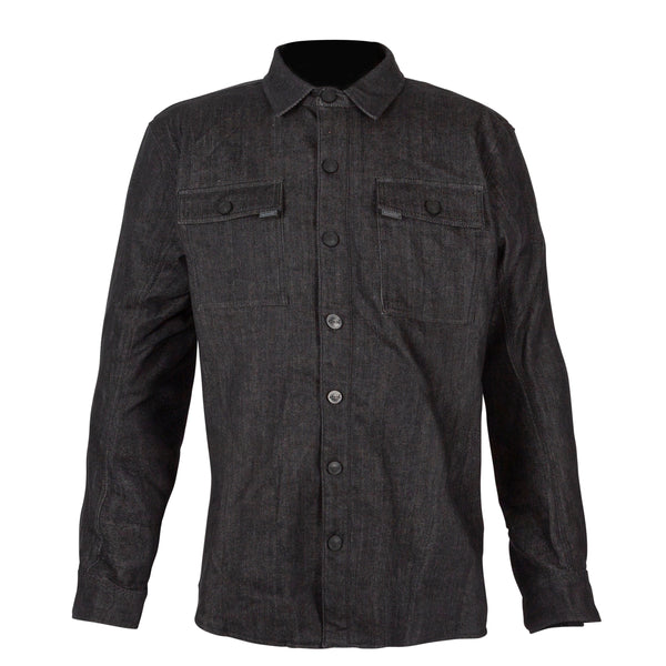 Spada Textile Shacket Vermont CE Denim Charcoal