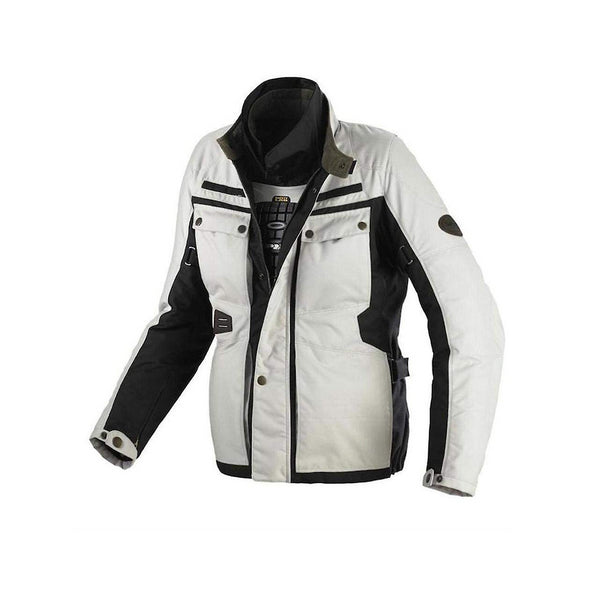 Spidi WORKER H2OUT JKT BLK/IVORY D138C-315 LARGE