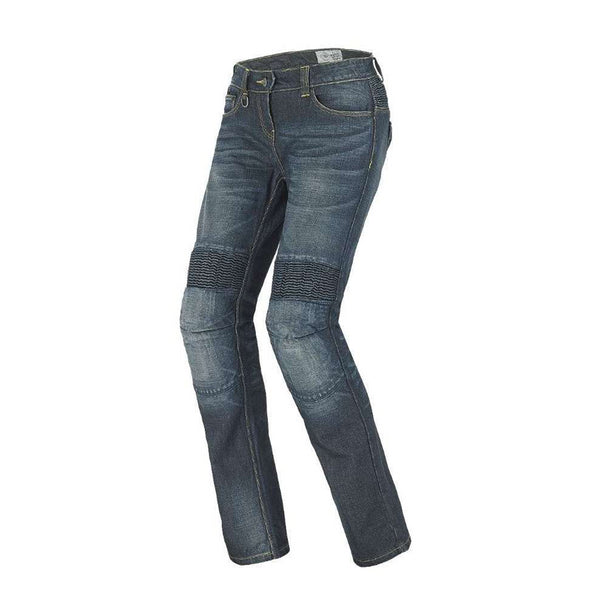 Spidi J RACING LADY JEANS BLUE USED J39C-807 SIZE 28