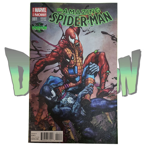 AMAZING SPIDER-MAN #1 BIANCHI VARIANT DIMENSION X EXCLUSIVE (2015)
