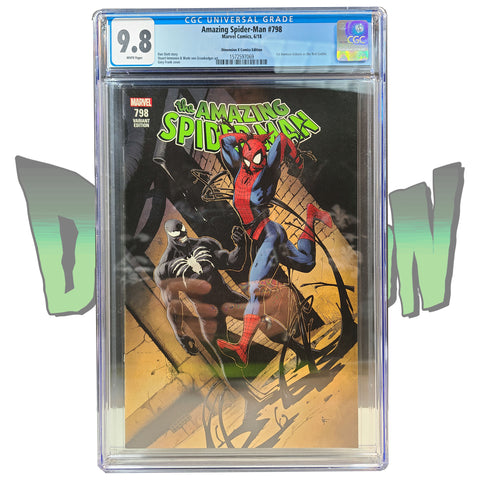 AMAZING SPIDER-MAN #798 GARY FRANK VARIANT TRADE DRESS DX EXCLUSIVE CGC 9.8