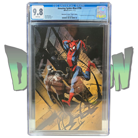 AMAZING SPIDER-MAN #798 GARY FRANK VARIANT VIRGIN DX EXCLUSIVE CGC 9.8