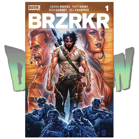 BRZRKR (BERZERKER) #1 CVR B MARK BROOKS