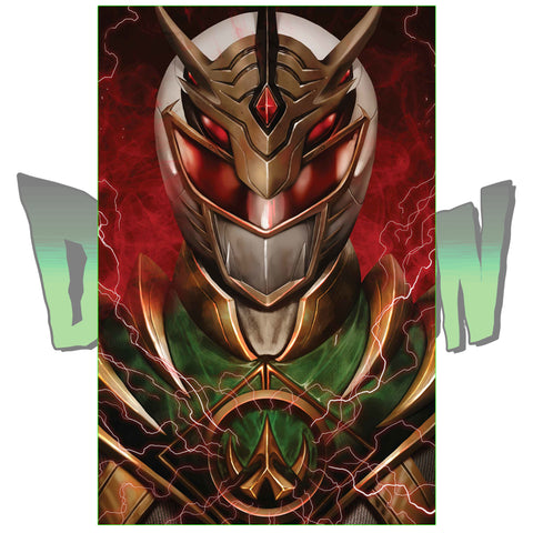 MIGHTY MORPHIN POWER RANGERS #31 WIZ YAKUZA DRAKKON TRADE DRESS  AND VIRGIN SET DIMENSION X EXCLUSIVE