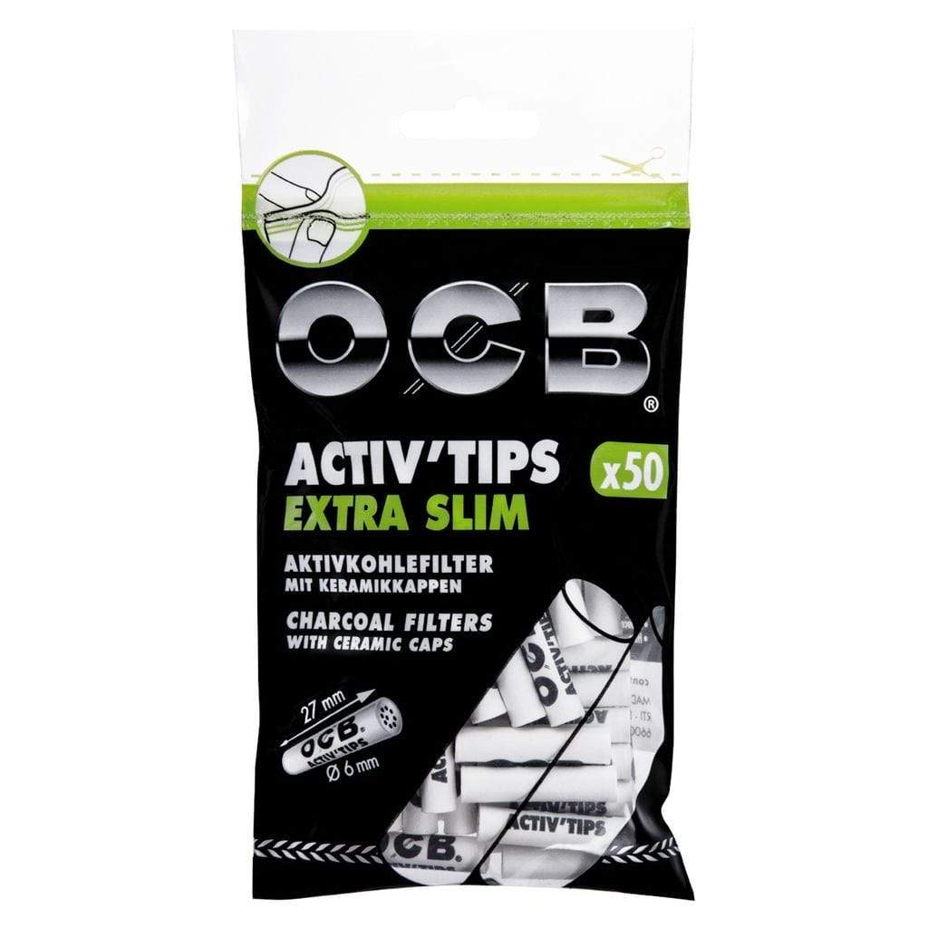 OCB Activ'Tips Extra Slim 6 mm - CBDNOL