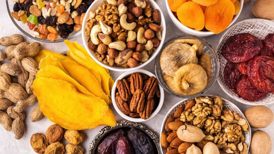HEALTHIEST DRIED FRUIT AND NUTS: PROPERTIES AND BENEFITS