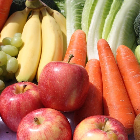 Fruits and vegetables for IBS diet