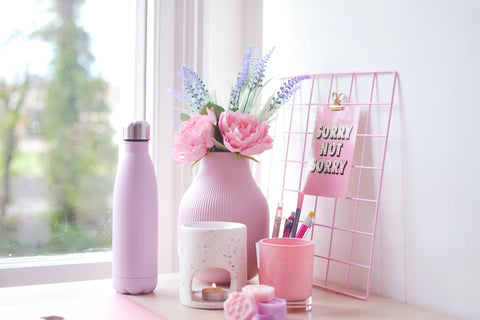 pink decor for your home