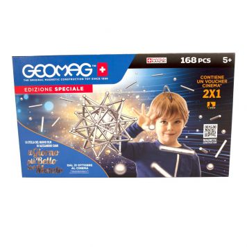 Geomag Silver 168 Stuks Special Edition
