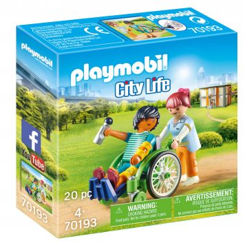 Playmobil 70193 Patient In Rolstoel