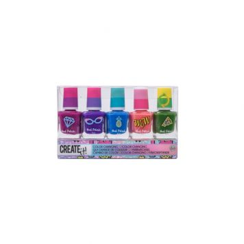 Create It! Nagellak Color Changing Galaxy 5 Stuks