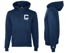 Load image into Gallery viewer, Blue Combat Logo Hoodie