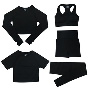 5 Piece set Black