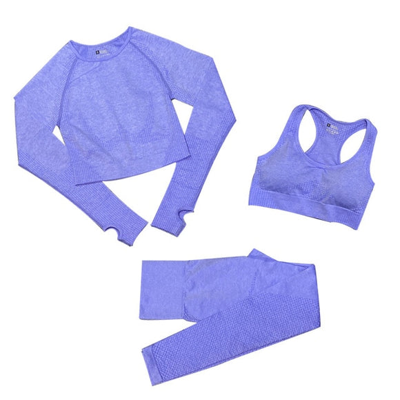 3 Piece Set Purple