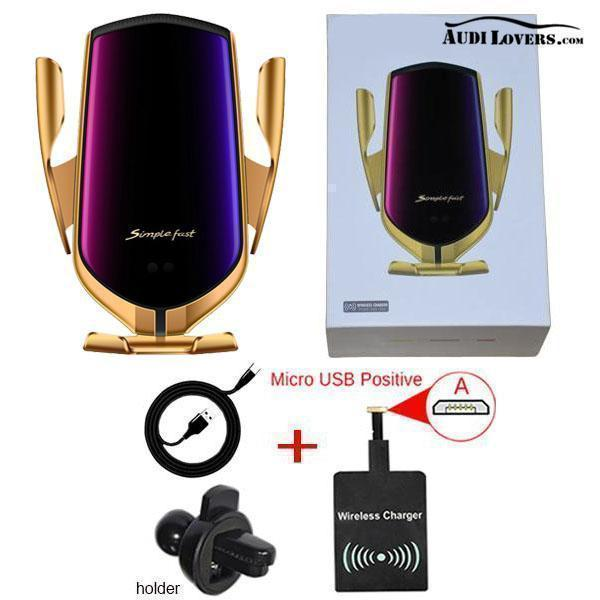 Luxury Automatic Car Wireless-Charger