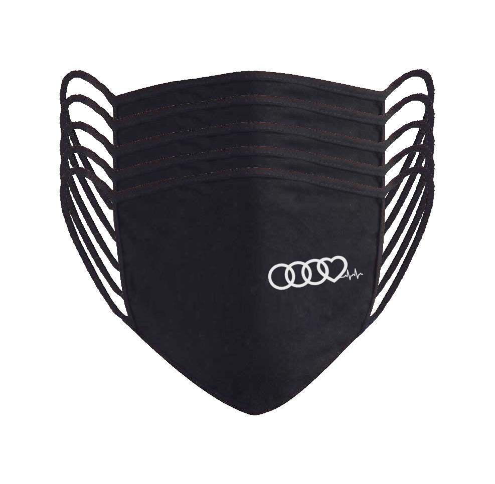 Audi Heartbeat Reusable Face Mask
