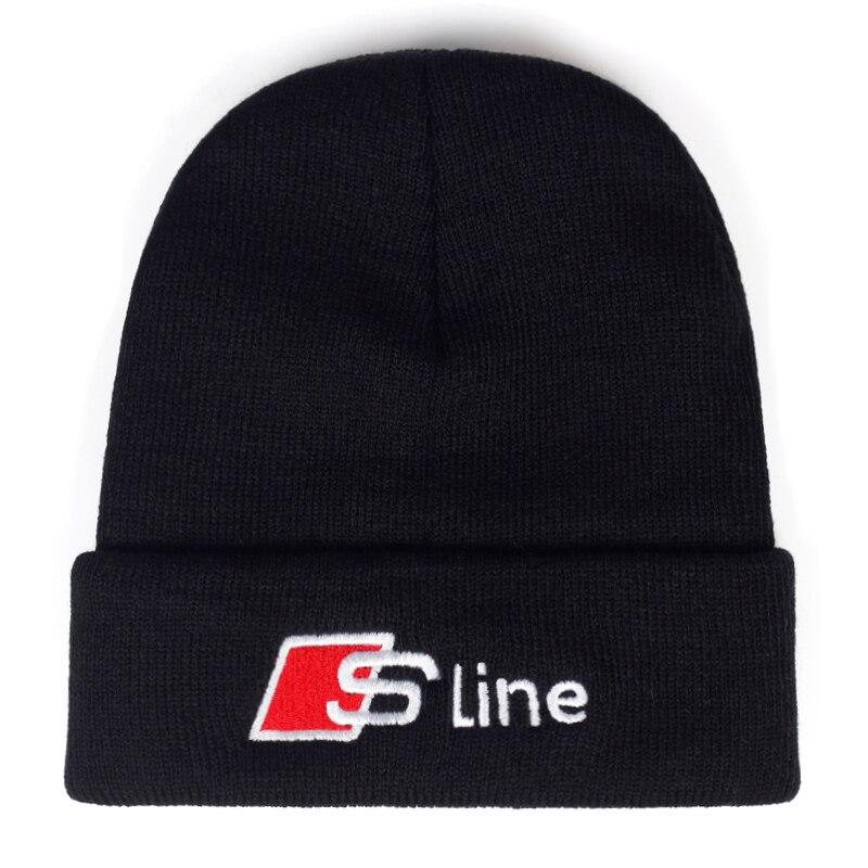 S-Line Embroidery Beanie