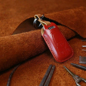 Leather Audi Key Cover (Handmade)
