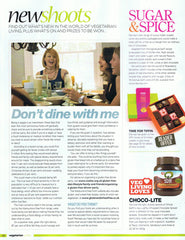 Devnaa Feature - Vegetarian Living August 2012