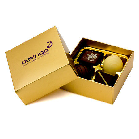Devnaa 4 Piece chocolate box