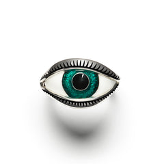 Green Eye Ring